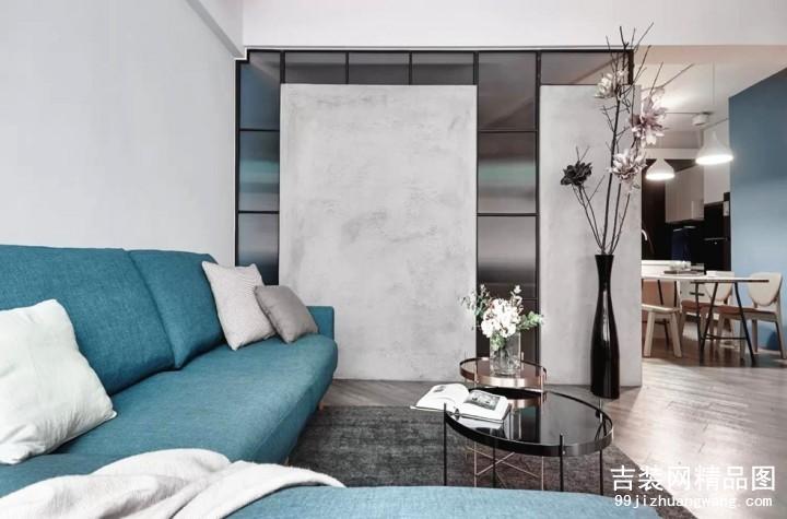 红翎台现代风格普通住宅装修设计效果图