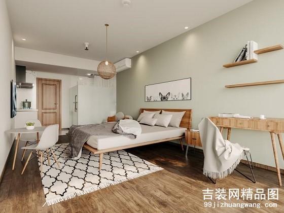 潘火公寓楼装修图2640平方