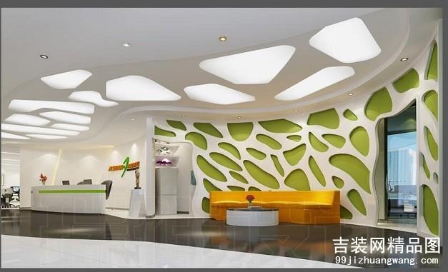利时金融大厦 办公室装修案例
