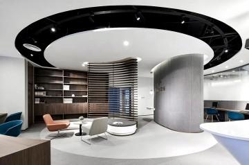 700平方办公室装修案例
