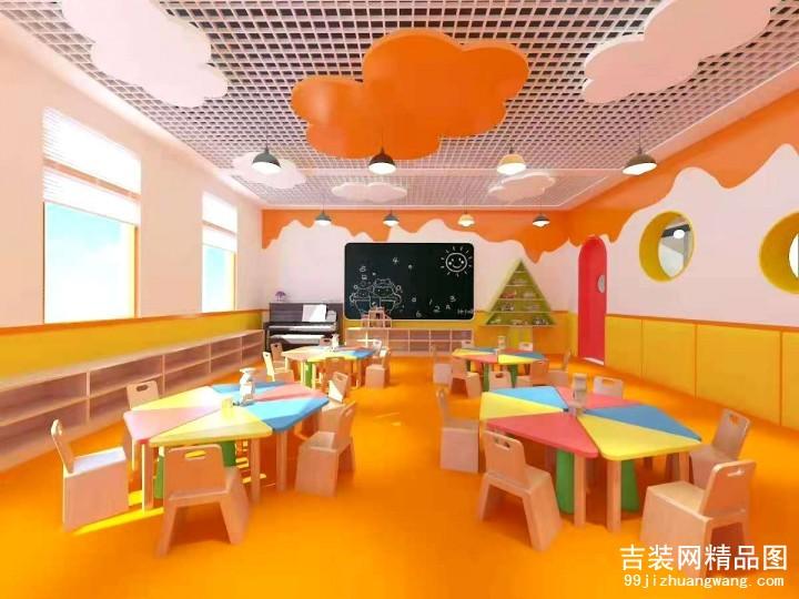 3000平方幼儿园装修案例