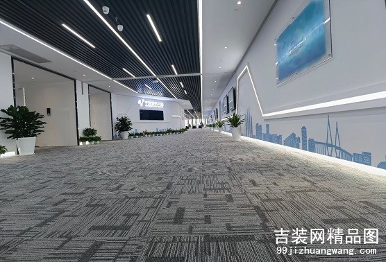 宁波城市数据中心装修及办公家具案例2000平方